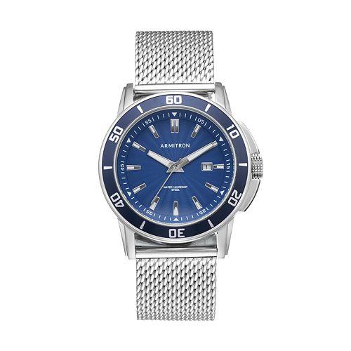 Armitron Men's Mesh Watch - 20/5176BLSV
