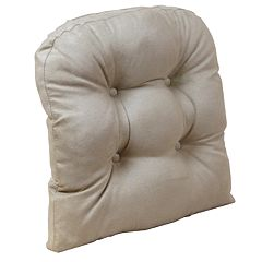 """The Gripper Obsessions Extra Large 17"""" x 17"""" Tufted Chair Pad"""