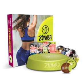 Zumba Incredible Results Workout DVD System & Transformation Kit