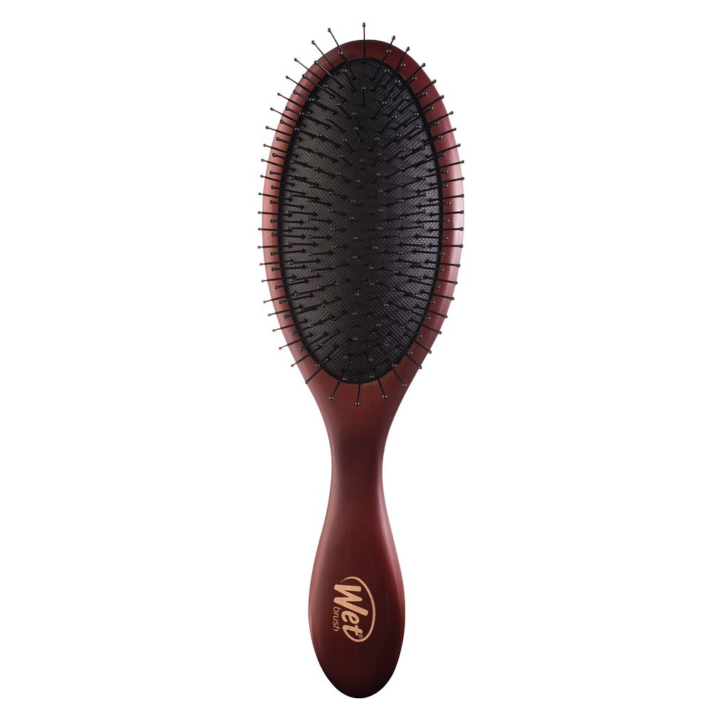 Wet Brush Detangling Naturals Wood Hair Brush