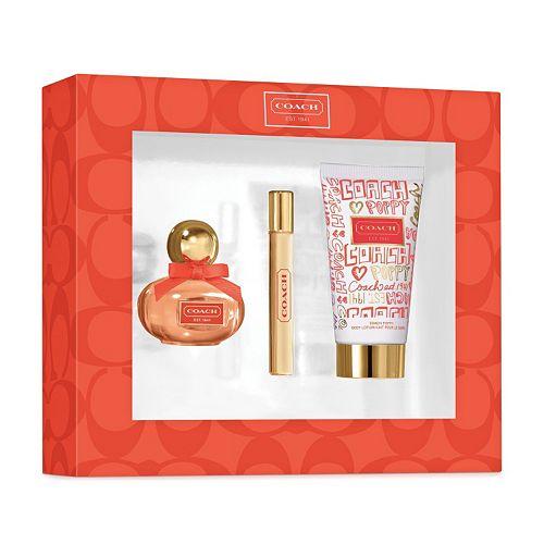 Coach Poppy Flower Womens Perfume Gift Set