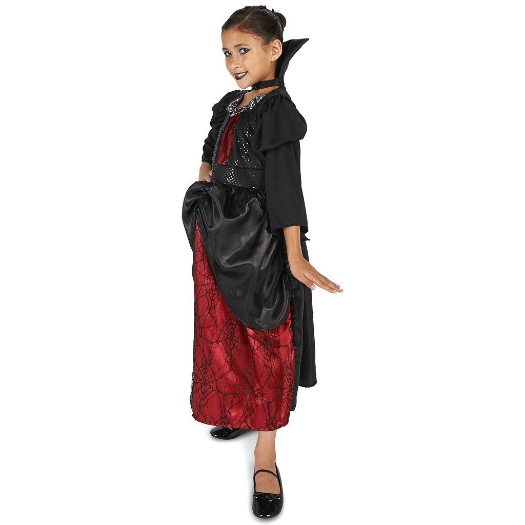 Kids Young Vampire Queen Costume