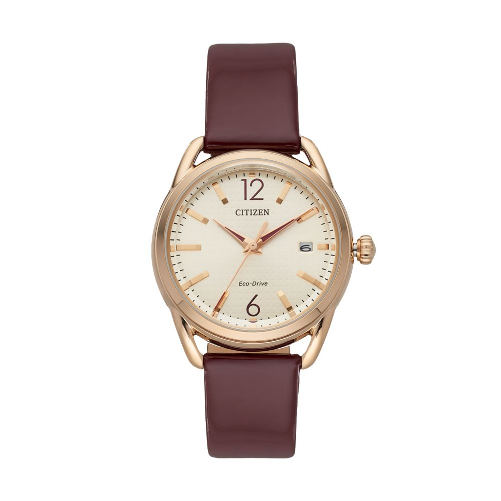 Drive from Citizen Eco-Drive Women's LTR Leather Watch - FE6083-05P