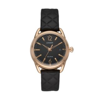 Drive from Citizen Eco-Drive Women's LTR Leather Watch - FE6083-13E