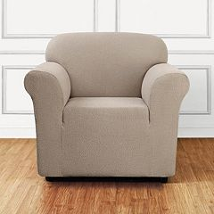 Sure Fit Stretch Leaf Chair Slipcover