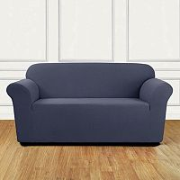 Sure Fit Stretch Leaf Loveseat Slipcover