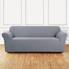 Sure Fit Stretch Leaf Sofa Slipcover