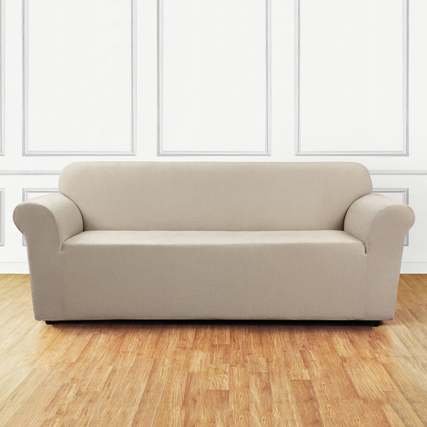 sure fit stretch chenille sofa slipcover rh kohls com Slipcovers for Sofas with Pillows Pottery Barn Slipcovers Sofa