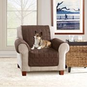 Ultimate Waterproof Suede Chair Cover