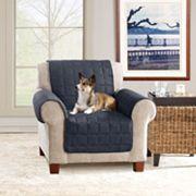 Ultimate Waterproof Suede Chair Cover