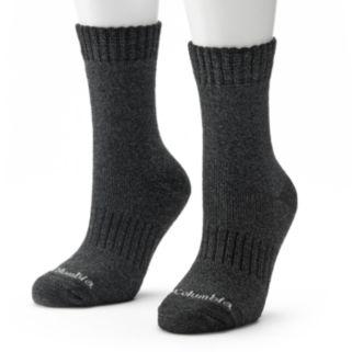 Columbia 2-pk. Space-Dyed Thermal Crew Socks - Women