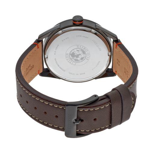 Drive from Citizen Eco-Drive Men's CTO Leather Watch - BM6995-19E