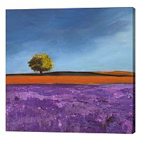 Metaverse Art Field of Lavender Canvas Wall Art