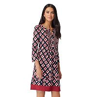 Women's Indication Printed Shift Dress