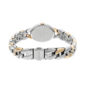 Seiko Women's Core Stainless Steel Curb Chain Solar Watch