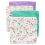 Baby Carter's 4-pk. Receiving Blankets