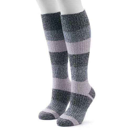 383c6ae7f07 Women s Columbia 2-pk. Striped Knee-High Socks