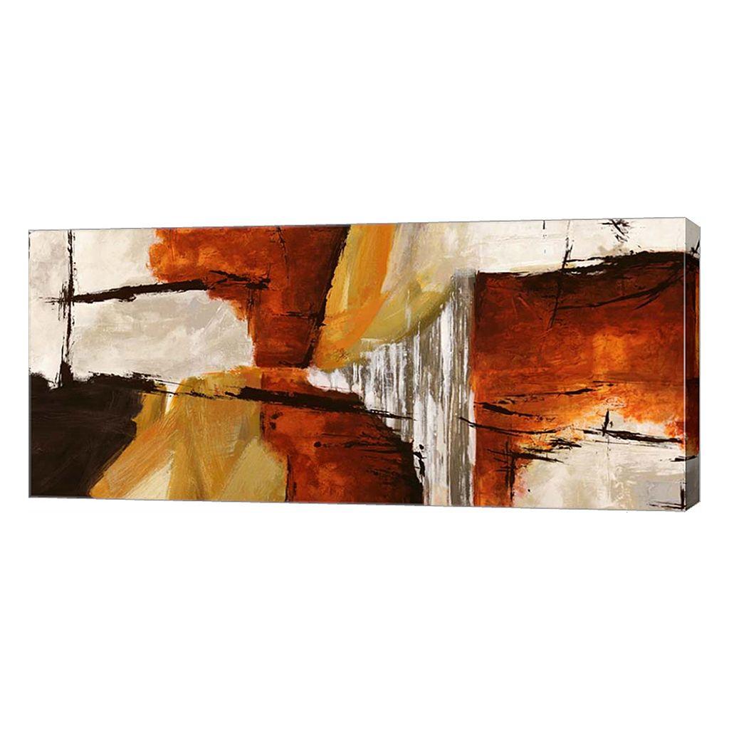Metaverse Art Of Wood & Stone Canvas Wall Art