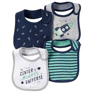 Baby Boy Carter's 4-pk. Space-Themed Bibs