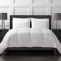 Sharper Image 370 Thread Count Year Round White Goose Down Comforter
