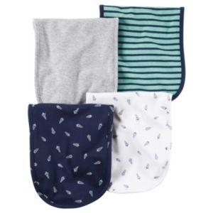 Baby Boy Carter's 4-pk. Space Burp Cloths