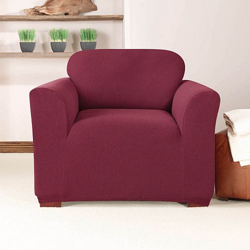 Sure Fit Stretch Twill Chair Slipcover