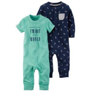 Baby Boy Carter's 2-pk. Space-Themed Coveralls