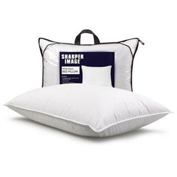 Sharper Image Duck Down Pillow