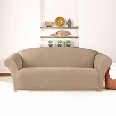 Sure Fit Stretch Twill Sofa Slipcover