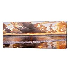 Metaverse Art Riflessi del Mattino Canvas Wall Art