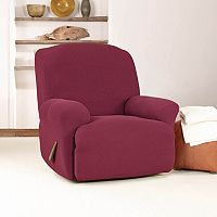 Sure Fit Stretch Twill Recliner Slipcover