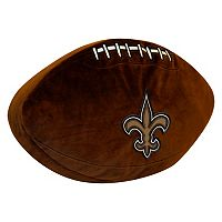 New Orleans Saints Football Pillow