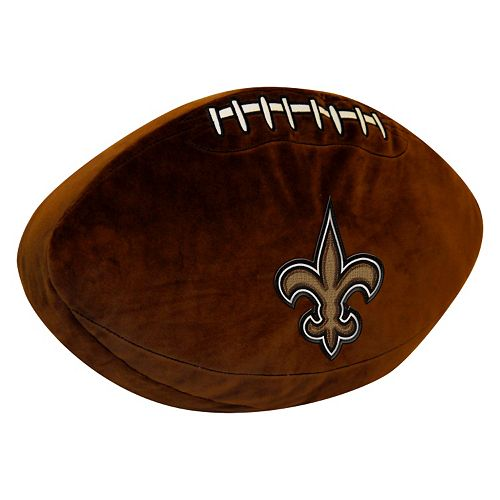 New Orleans Saints Football Pillow