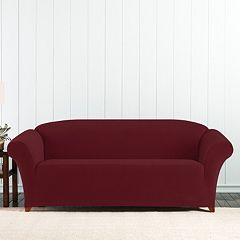 Sure Fit Stretch Pixel Corduroy Sofa Slipcover