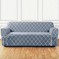 Sure Fit Lattice Sofa Slipcover
