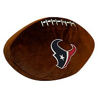 Houston Texans Football Pillow