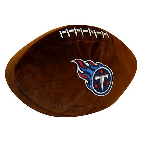 Tennessee Titans Football Pillow