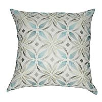 Loom and Mill Floral Blue Throw Pillow
