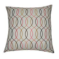Loom and Mill Wavy III Throw Pillow