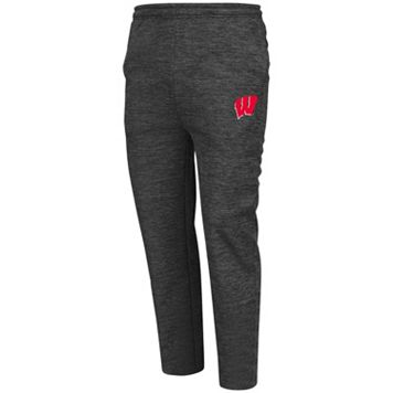 Men's Campus Heritage Wisconsin Badgers Essential Fleece Pants