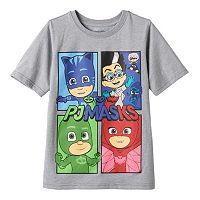 Boys 4-7 PJ Masks Gekko, Catboy & Owlette Tee