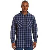 Men's Stanley Classic-Fit Chambray Button-Down Work Shirt