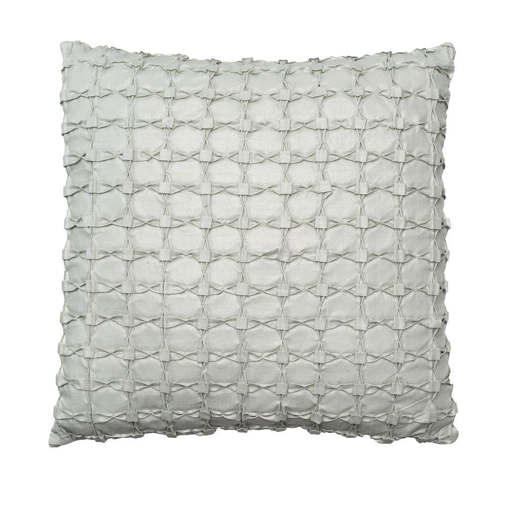 Simply Vera Vera Wang Folded Squares Throw Pillow