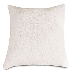 Majestic Home Goods Faux Sherpa Sheepskin Throw Pillow