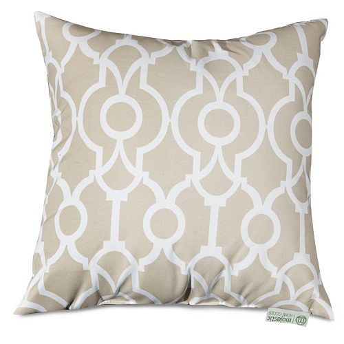 Majestic Home Goods Athens Indoor / Outdoor Throw Pillow