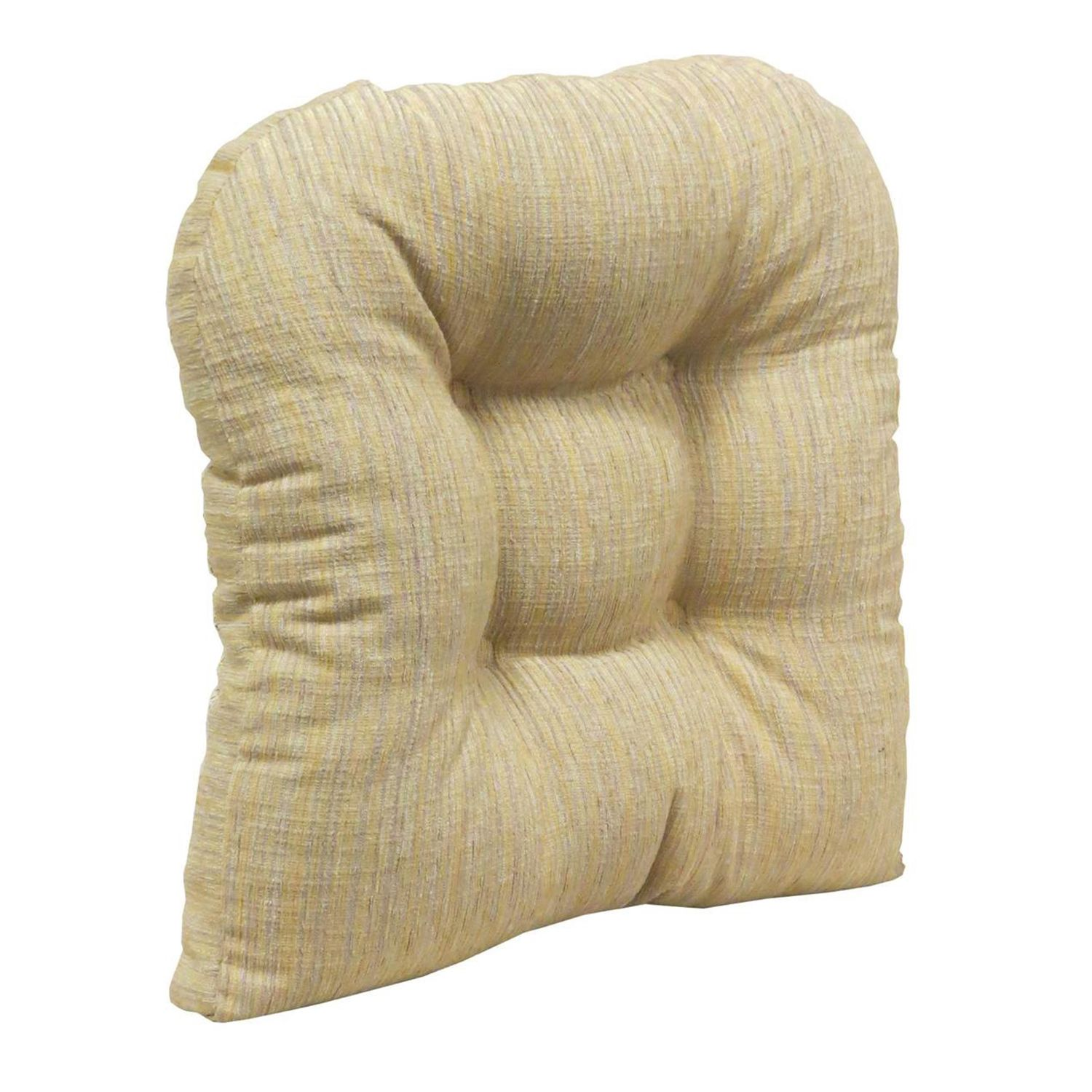 Delightful The Gripper Polar Chenille Extra Large 17u201d X 17u201d Tufted Chair Pad