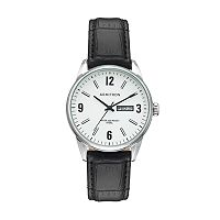 Armitron Men's Leather Watch - 20/5048SVSVBK