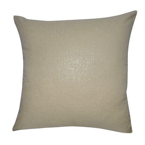 Loom and Mill Solid Shimmer Throw Pillow
