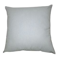 Loom and Mill Stripe Blue Throw Pillow