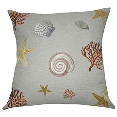 Loom and Mill Shell Throw Pillow